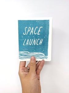 Space Launch Zine