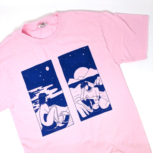 Astral Women Tee in Pink