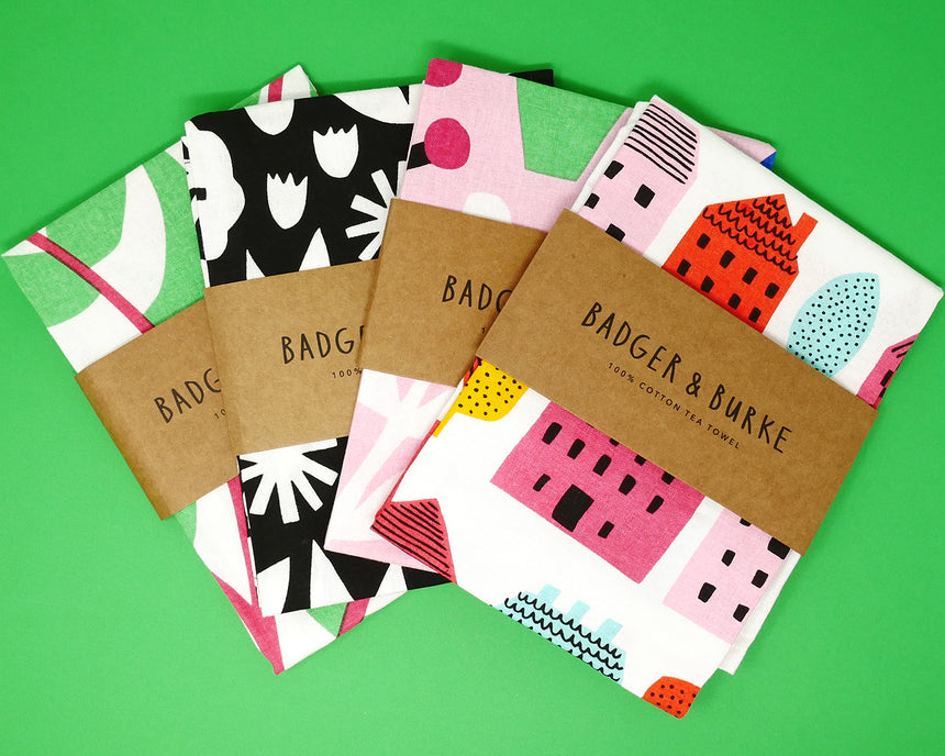 Badger and Burke Tea Towels