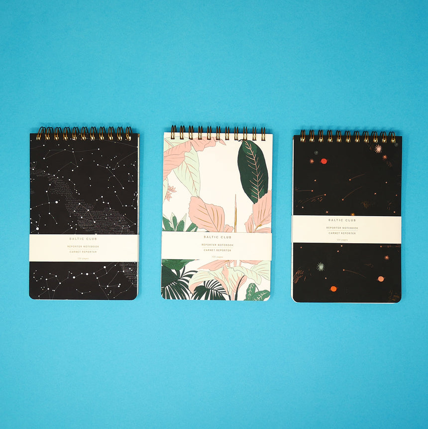 Baltic Club Reporter Notebooks