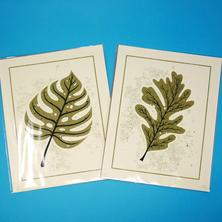 Fabled Creative Leaf Screen Prints