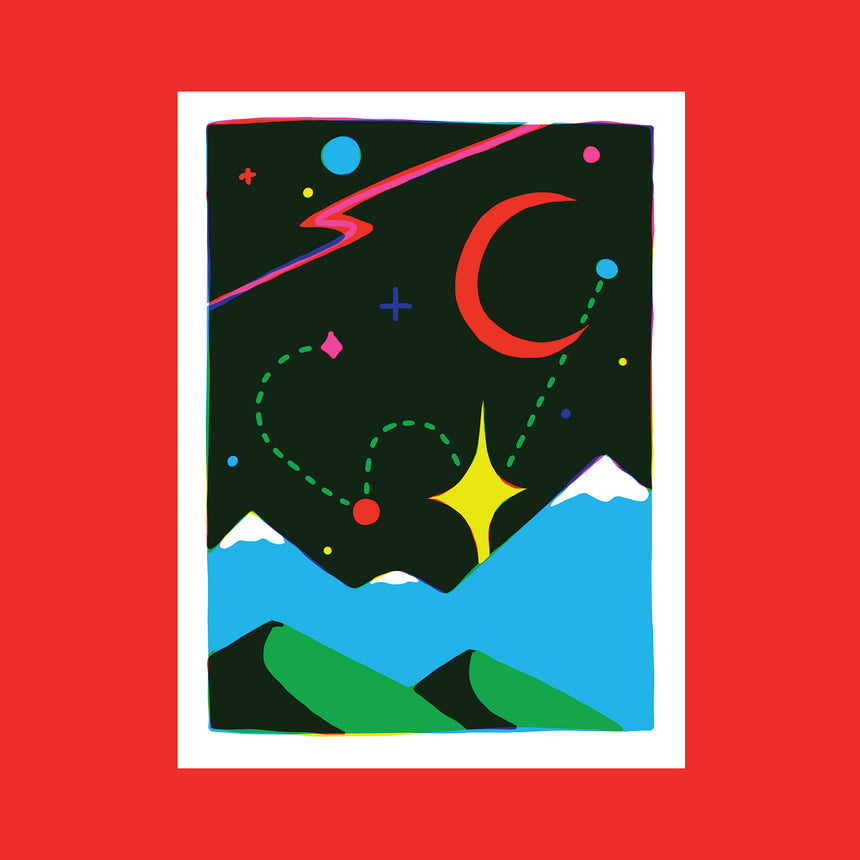 Space Magic II Screen Print