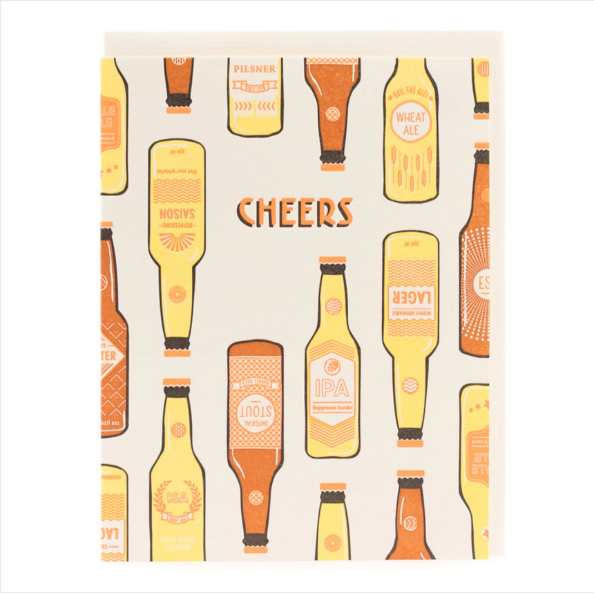 Cheers Craft Beer Greeting Card