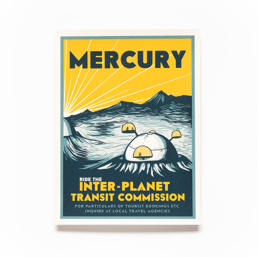 Mercury Screen Print