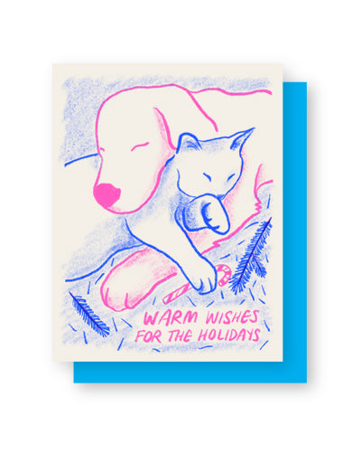 Warm Wishes Holiday Card