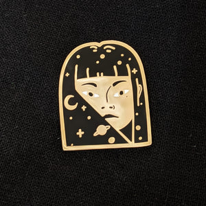 Astral Woman Pin