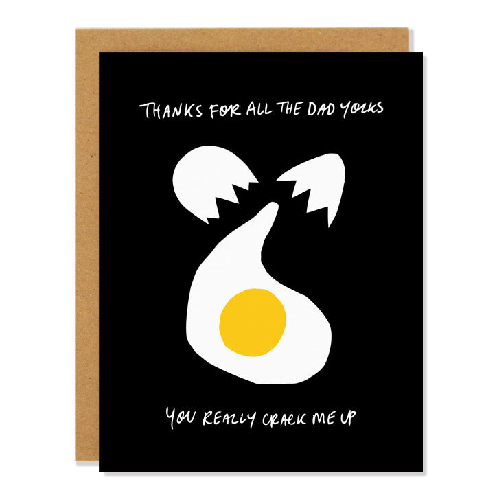 Dad Yolks Father's Day Greeting Card