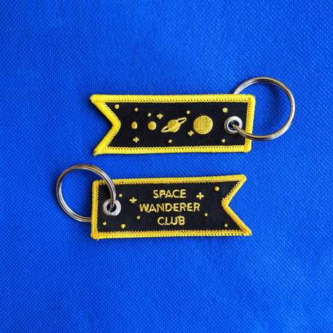 Space Wanderer Club Keychain