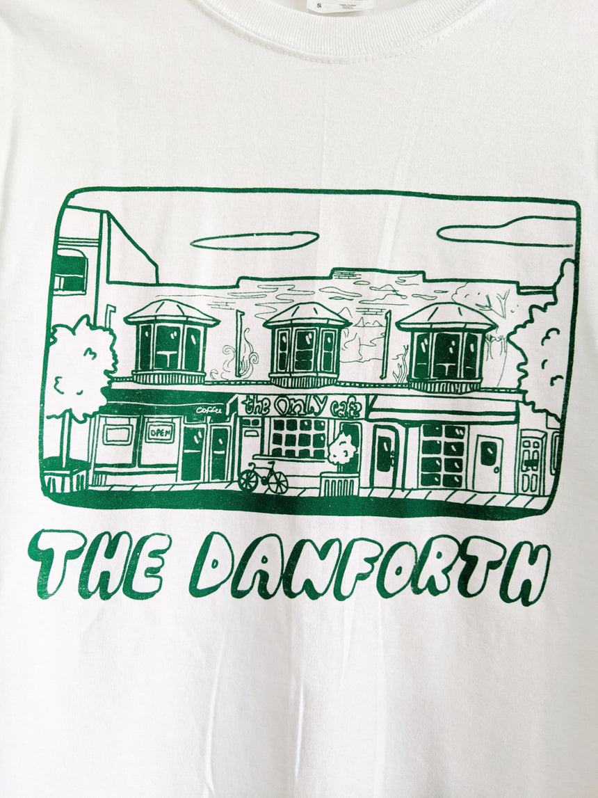 Danforth Tee in White