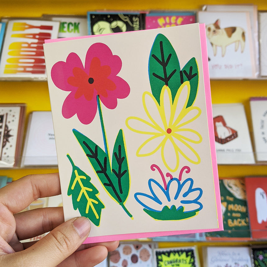 Flowers Everyday Greeting Card
