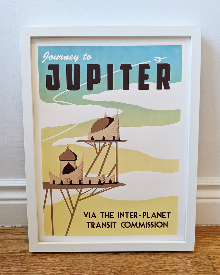 Jupiter Screen Print