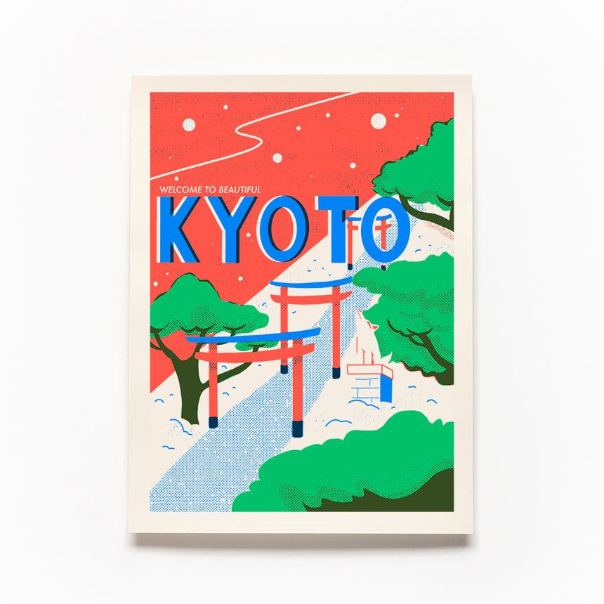 Kyoto Screen Print