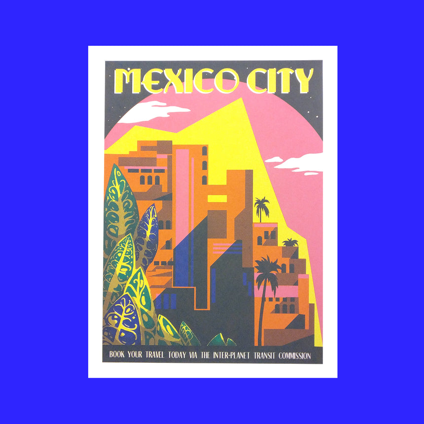 Mexico City Screen Print