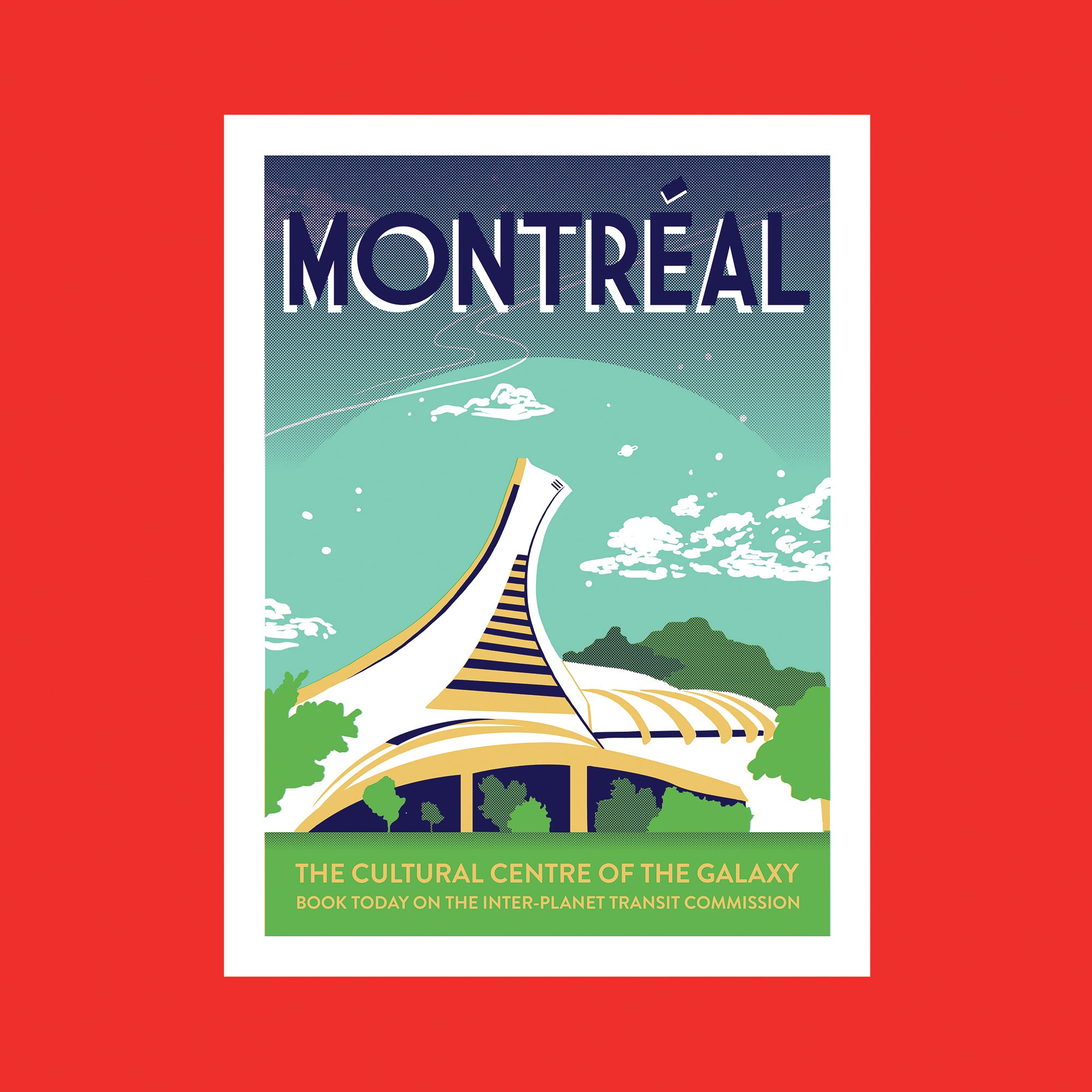 Montreal Screen Print