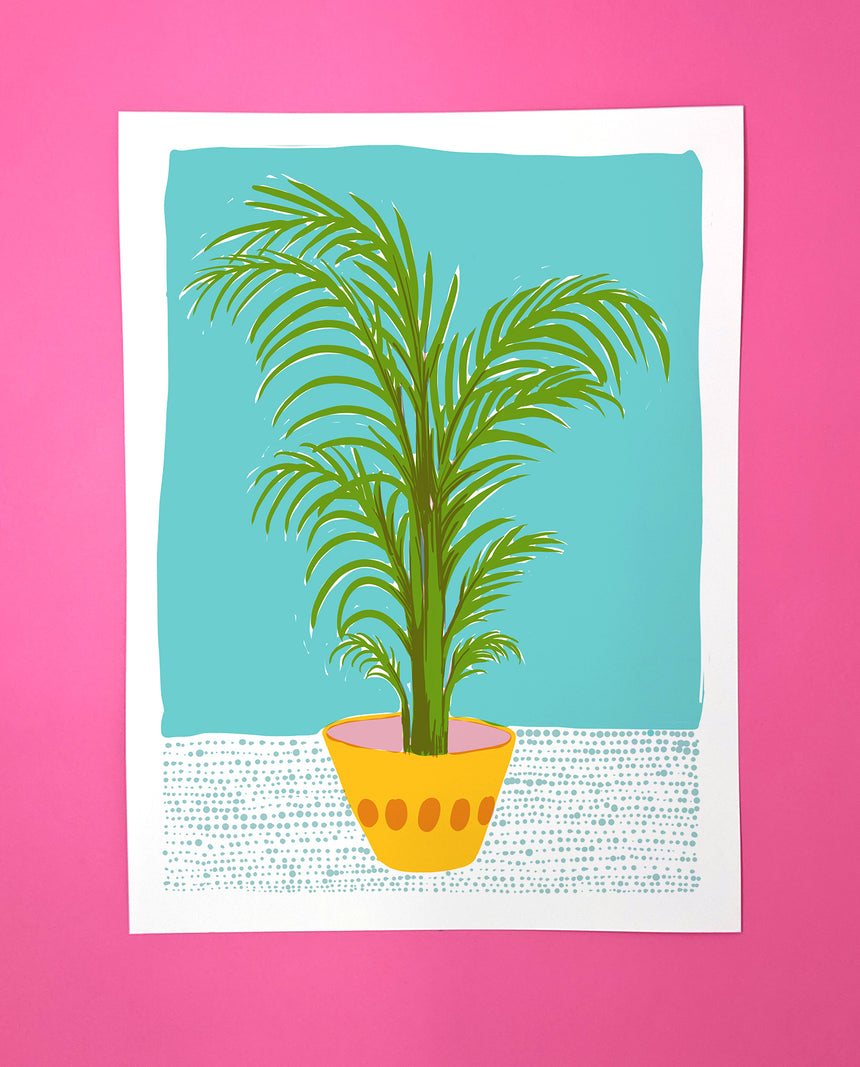 Palm Screen Print