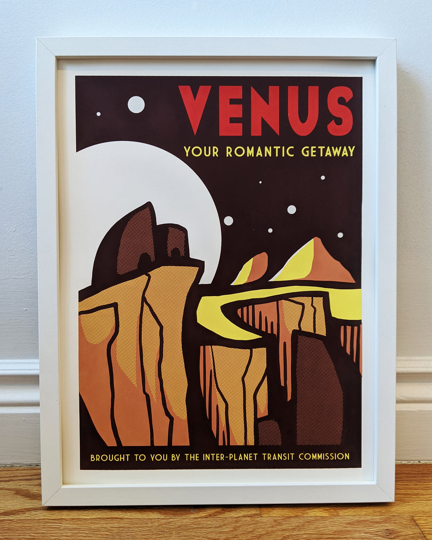 Venus Screen Print