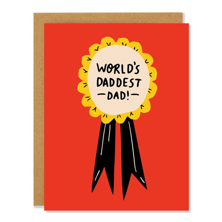 World's Daddest Dad Father's Day Greeting Card
