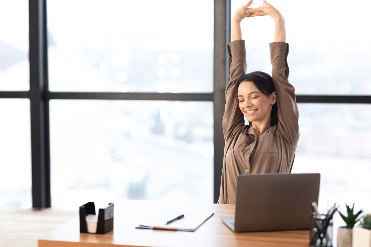 WFH: 4 Stretches for Better Posture