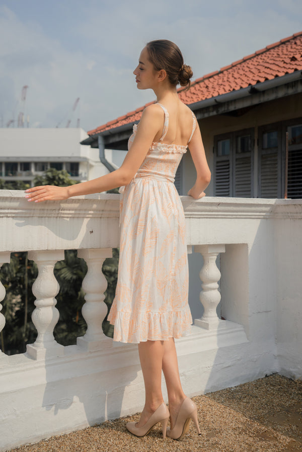 Summer Whenever Smocked Midi Dress