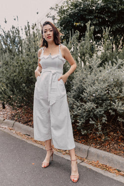 Clean Slate Frill Jumpsuit