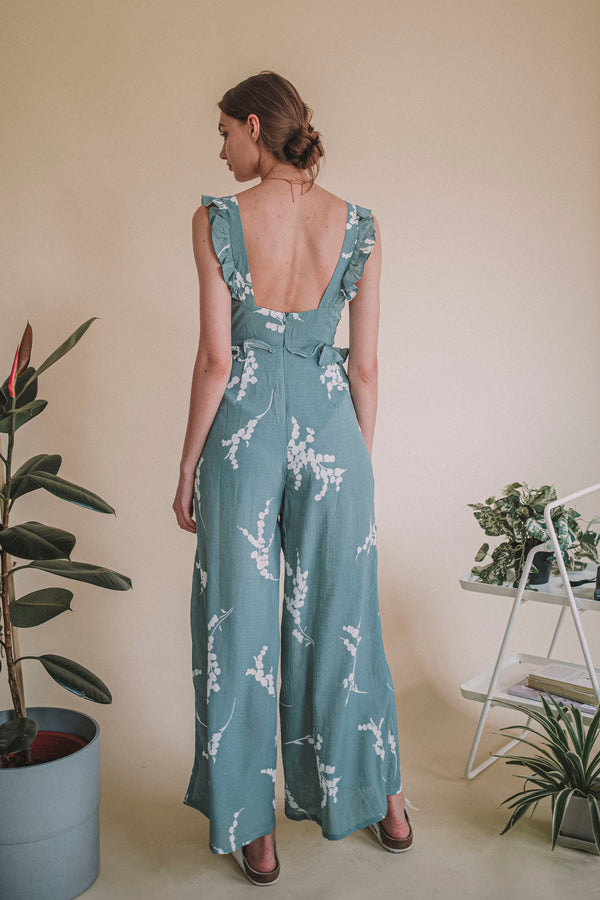 Flow Easy Sage Jumpsuit