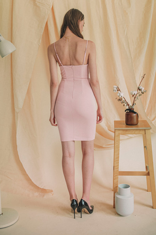 Own It All Dress in Blush
