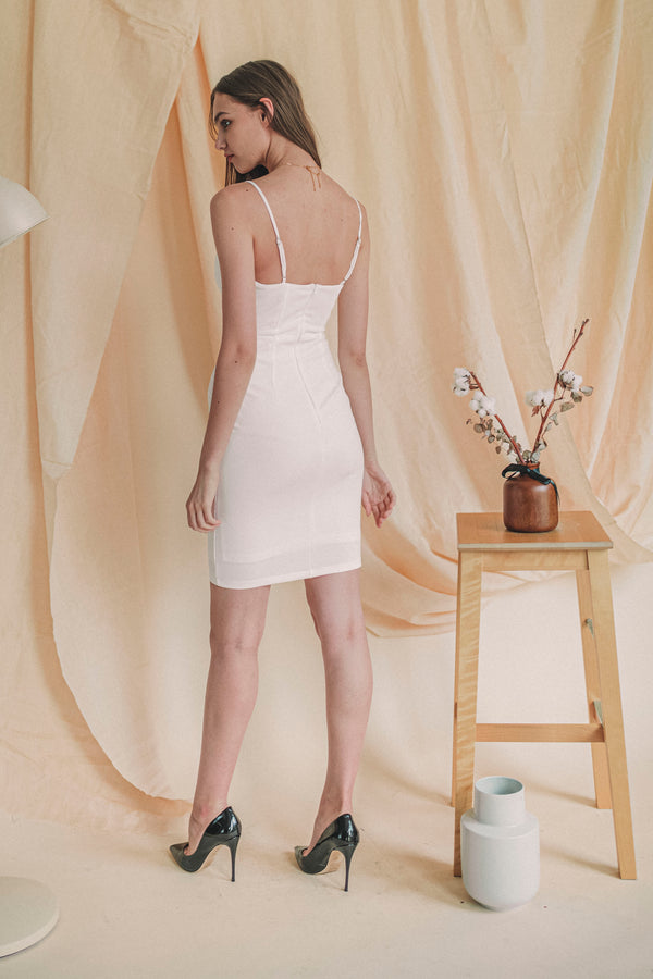 Own It All Dress in White