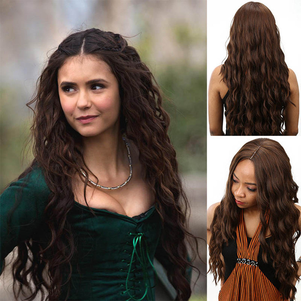 Long Curly Wigs Lace Front Human Hair Wigs For Black Brazilian Remy Hair Curl Wig 2U81123