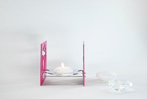 Candle light | BAZ | NAEMA - Fusha w/ Mirror Polished Center (B2)