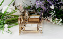 Load image into Gallery viewer, BAZ Paradise - B1 - w/ Rose Gold Plated Center & Candle Trays