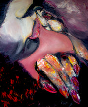 "Load image into Gallery viewer, ""Lips to Ears"" Giclee & Aluminum Prints Multiple Sizes L.E. 1/100"