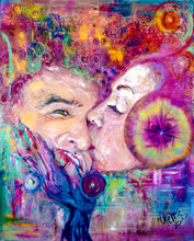 "Load image into Gallery viewer, ""LOVE RESONANCE"" Giclee & Aluminum Prints Multiple Sizes L. E. 1/100"