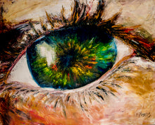 "Load image into Gallery viewer, ""Eye Of Wisdom"" Prints L.E. 1/100"