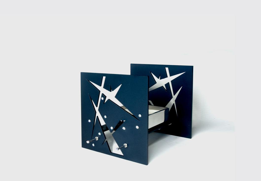 BAZ STARLIGHT Night Blue, Your Soulmate Love Sign United for Ever VIRGO