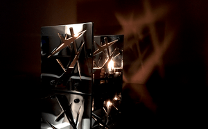 CANDLE LAMP SCULPTURE - BAZ Thunder Light - Limited Edition 2/10