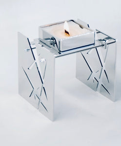 Candle light | BAZ STARLIGGHT | Mirror Polished Stainless Steel