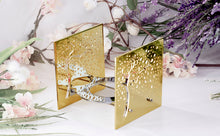 Load image into Gallery viewer, Candle light - BAZ Cherry Blossom - 24K Gold Plated