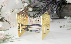 Candle light - BAZ Cherry Blossom - 24K Gold Plated