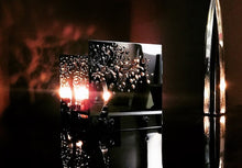 Load image into Gallery viewer, BAZ CONNECTION, THE TRILOGY 3 Candle Lamps 24K Gold Plated With Swarovski Crystals