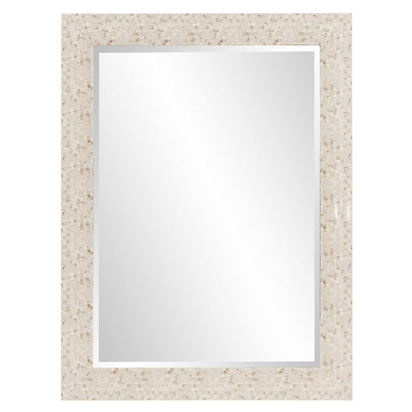 Ariel Mother of Pearl Rectangular Wall Mirror-Coastline Mirrors