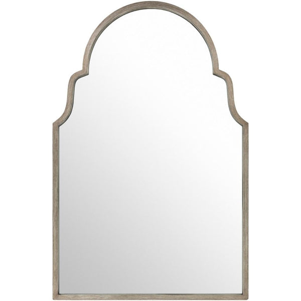 Giovanni Large Silver Antique Arched Mirror-Coastline Mirrors