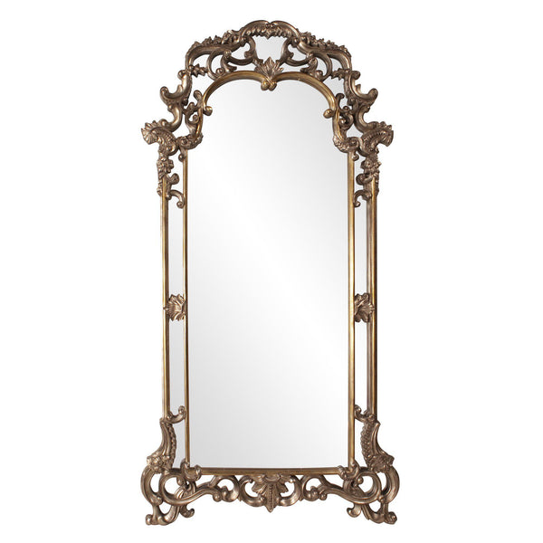 Grace Extra Large Ornate Bronze Floor Mirror-Coastline Mirrors