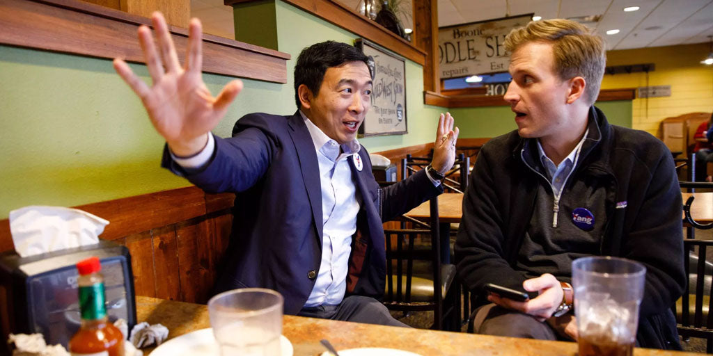Andrew Yang Freedom Dividend People Will Not Work Less