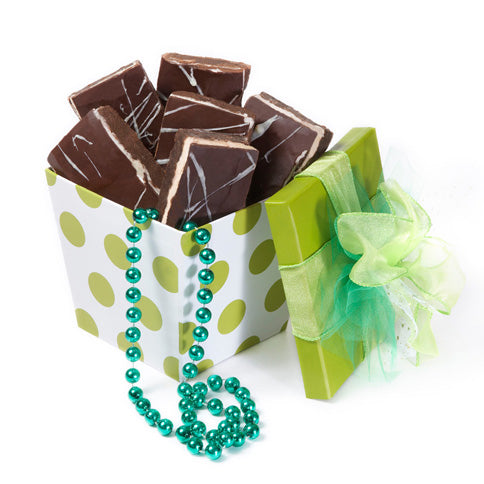 St. Patrick's Day Lucky Brownies