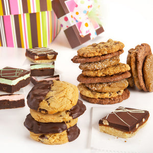 Build Your Own Cookie and Brownie Tower