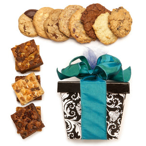Build Your Own 8 Pack Cookie and 6 Pack Fudge Brownie Gift