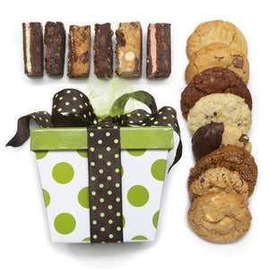Build Your Own 8 Pack Cookie and 6 Pack Brownie Gift