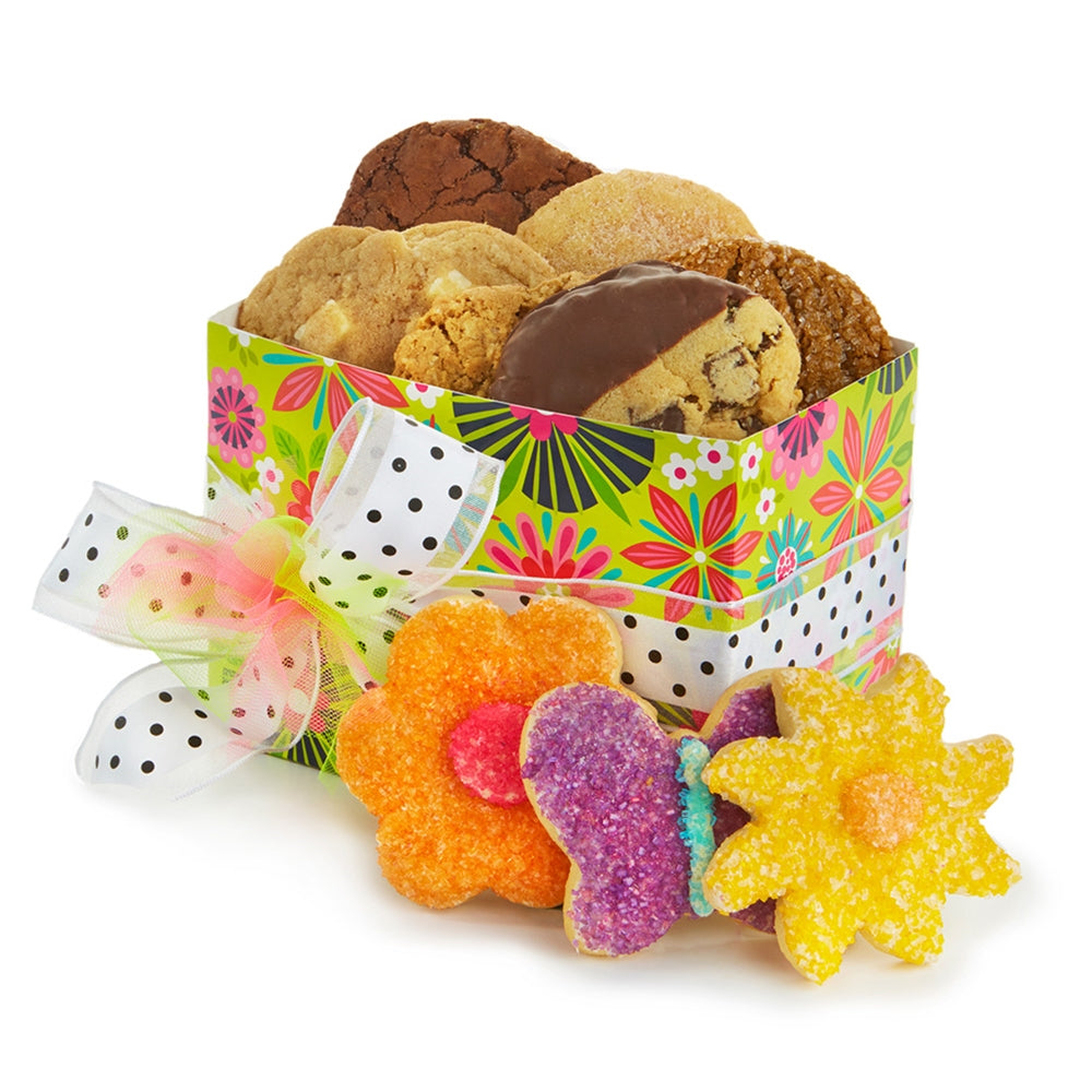 Flower Cookie Basket