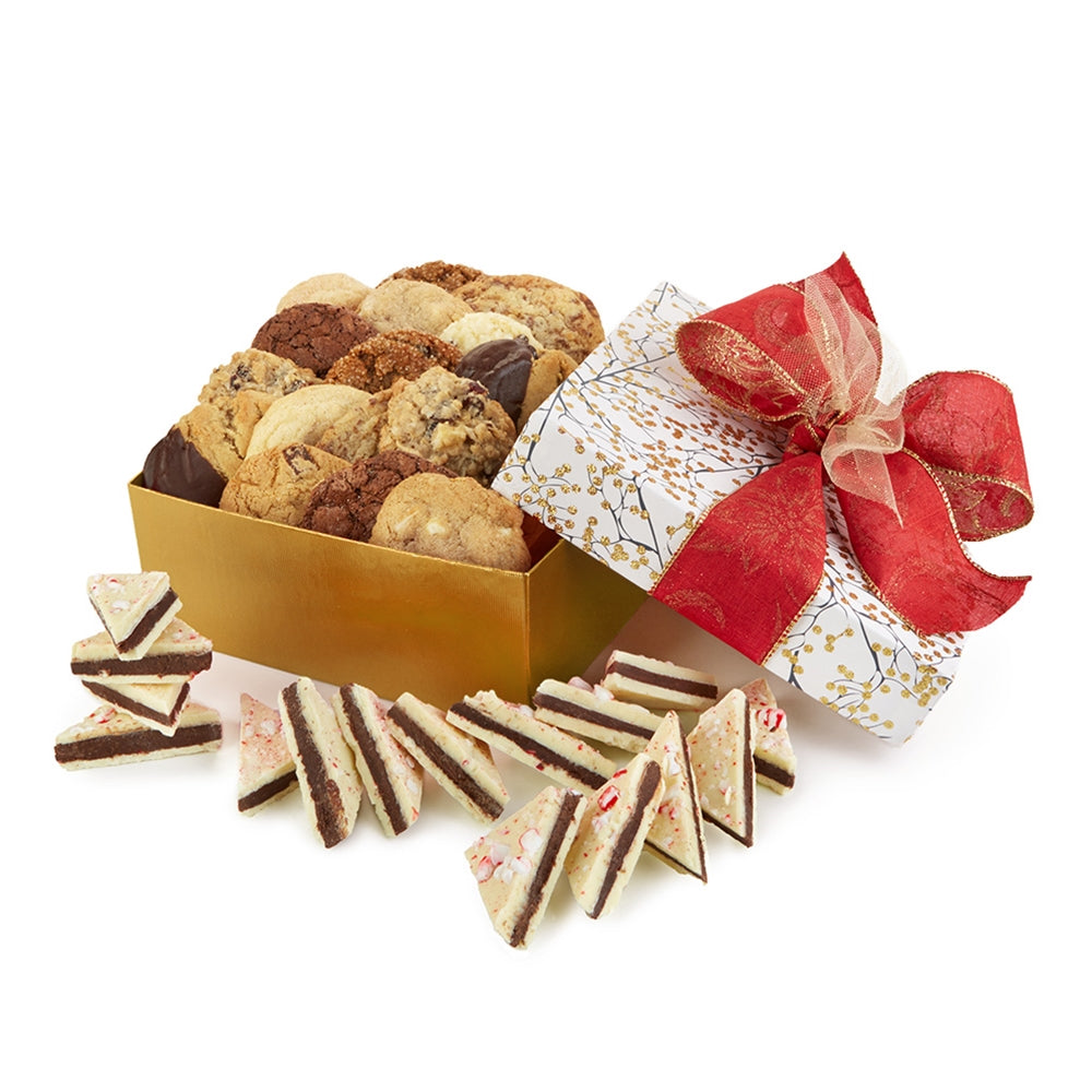 Gold Berries Cookie and Bark Collection