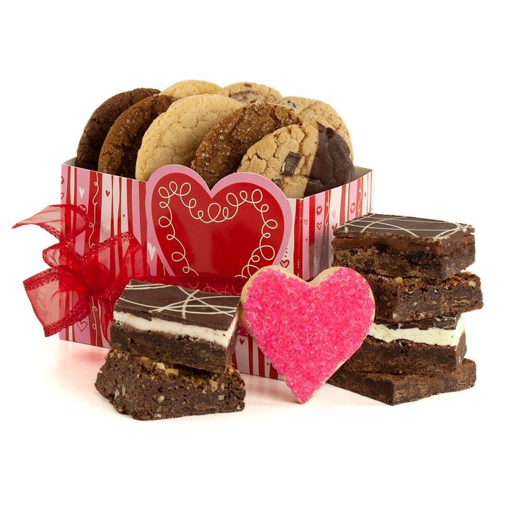 Gluten Free Valentine Cookie and Brownie Assortment